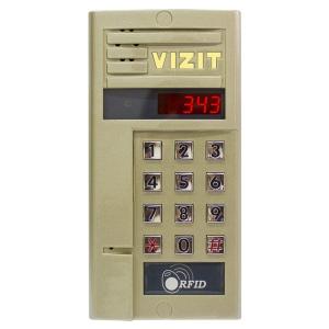 Блок виклику домофону VIZIT БВД-343RCPL Slezhka.com.ua Безпечний Дім
