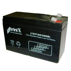 Аккумуляторная батарея Trinix 12V 7 Ah Slezhka.com.ua Безпечний Дім