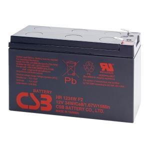Аккумуляторная батарея CSB HR1234WF2 12V 9Ah Slezhka.com.ua Безпечний Дім