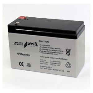 Аккумуляторная батарея Trinix Super Charge 12V 7 Ah Slezhka.com.ua Безпечний Дім