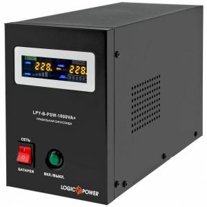 Блок безперервного живлення LogicPower UPS LPY-B-PSW-1000VA+ (700Вт) Slezhka.com.ua Безпечний Дім
