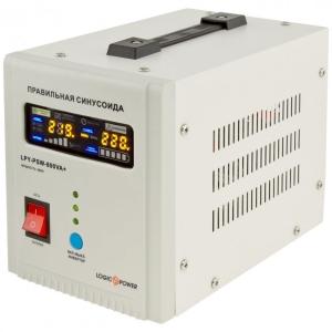 Блок безперервного живлення LogicPower UPS LPY-PSW-800VA+ (560Вт) Slezhka.com.ua Безпечний Дім