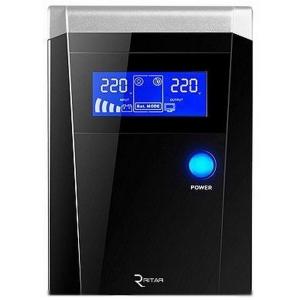 Блок безперервного живлення Ritar UPS RTSW-600 D12 LCD Slezhka.com.ua Безпечний Дім