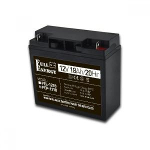 Аккумуляторная батарея Full Energy FEP-1218 (12V 18 Ah) Slezhka.com.ua Безпечний Дім