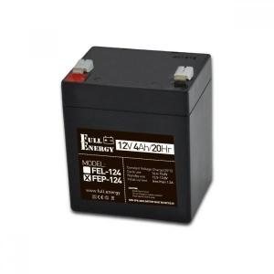Аккумуляторная батарея Full Energy FEP-124 (12V 4 Ah) Slezhka.com.ua Безпечний Дім