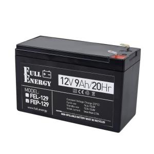 Аккумуляторная батарея Full Energy FEP-129 (12V 9 Ah) Slezhka.com.ua Безпечний Дім