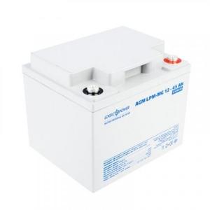 Аккумуляторная батарея LogicPower AGM LPM-MG 12V - 45 Ah Slezhka.com.ua Безпечний Дім