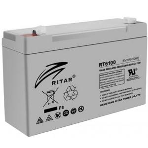 Аккумуляторная батарея Ritar AGM RT613 (6V 1.3 Ah) Slezhka.com.ua Безпечний Дім