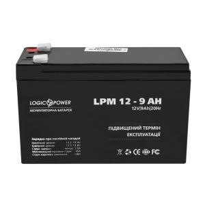 Аккумуляторная батарея Trinix 12V гелевий 9 Ah Slezhka.com.ua Безпечний Дім