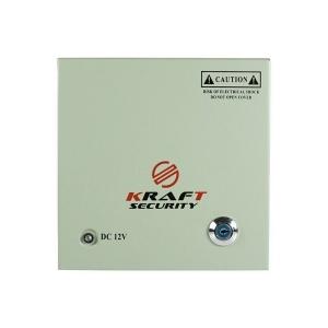 Імпульсний блок живлення Kraft KRF-1230 (18CH) BOX 30А 18 каналів Slezhka.com.ua Безпечний Дім
