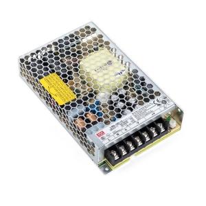 Імпульсний блок живлення Mean Well LRS-150-24 (24В 6.5А) Slezhka.com.ua Безпечний Дім