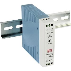 Імпульсний блок живлення Mean Well MDR-20-12 (12В 1.67A) на DIN-рейку Slezhka.com.ua Безпечний Дім