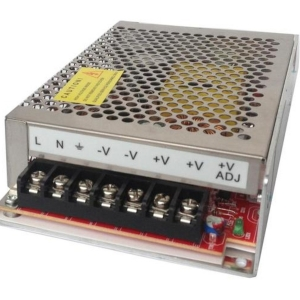 Імпульсний блок живлення NorVol 120W/12V (10А) (алюминий) Slezhka.com.ua Безпечний Дім