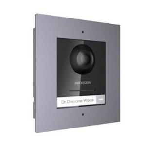 Визивна IP панель Hikvision DS-KD8003-IME1/Flush + врізна рамка Slezhka.com.ua Безпечний Дім