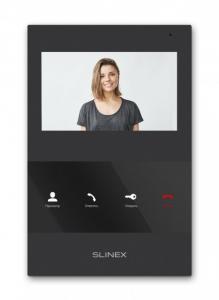 IP домофон Slinex SQ-04 black Slezhka.com.ua Безпечний Дім