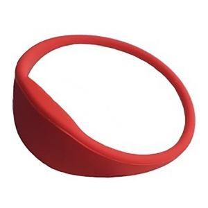 Браслет Atis RFID WRB-02MF red з тонким ремішком Slezhka.com.ua Безпечний Дім