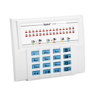 Безпровідна сигнализація Satel VERSA-LED-BL клавіатура Slezhka.com.ua Безпечний Дім