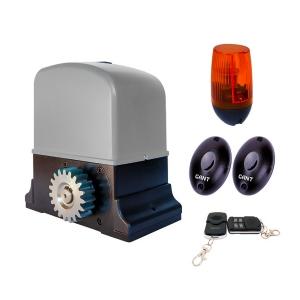 Комплект Gant SET IZ-600 електропривод з вбудованим блоком управління і приймачем + пульт ДУ 4-х канальний 2 шт + PULSAR (230) сигнальна лампа + IR30M фотоелементи для зовнішньої установки Slezhka.com.ua Безпечний Дім