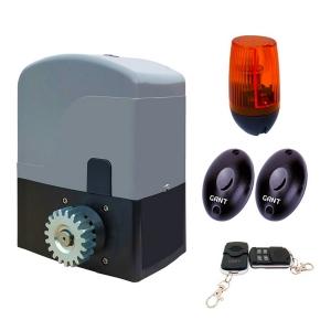 Комплект Gant SET IZ-1200 електропривод + пульт ДУ 4-х канальний + PULSAR (230) сигнальна лампа + IR30M фотоелементи для зовнішньої установки Slezhka.com.ua Безпечний Дім