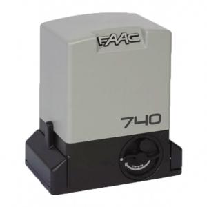 Автоматика для відкатних воріт FAAC 740 для створки вагою до 500 кг Slezhka.com.ua Безпечний Дім