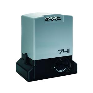Автоматика для відкатних воріт FAAC 741 для створки вагою до 900 кг Slezhka.com.ua Безпечний Дім