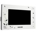 Видеодомофон цветной Kocom KCV-A374LE white Slezhka