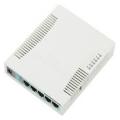 Wi-Fi роутер Mikrotik RB951G-2HnD Wi-Fi Router 4port Slezhka