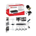 TurboHD видеорегистратор Hikvision DS-J142I/7104HGHI-F1 (комплект) Slezhka