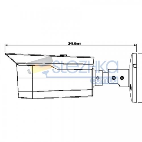 HD-CVI відеокамера Dahua DH-HAC-HFW1200DP (8mm)